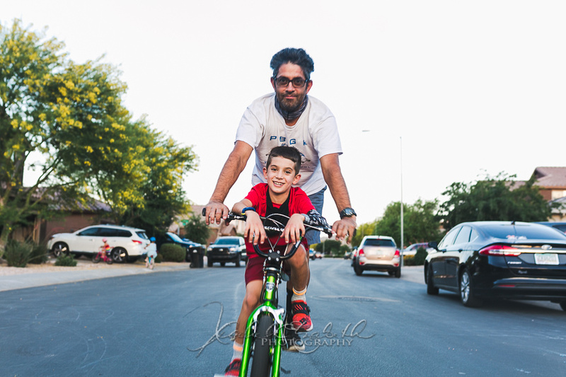 bikes with dad
